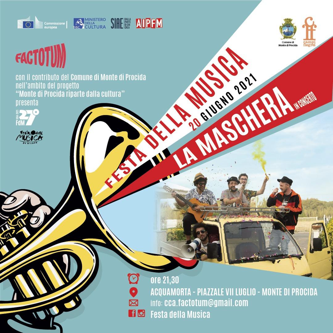 Festa Europea della Musica - La Maschera in Concerto